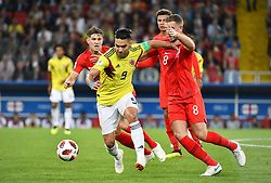 Radamel Falcao in action during the 1/8 Final Game between Colombia and England at the 2018 FIFA World Cup in Moscow, Russia on July 3, 2018. Photo by Lionel Hahn/ABACAPRESS.COM