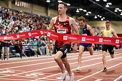 2020 USATF Indoor Championship<br /> Albuquerque, NM 2020-02-15<br /> photo credit: © 2020 Kevin Morris<br /> mens 1500m final, Nike, Bowerman TC,