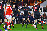 Lee Cattermole of Sunderland (6) in action during the EFL Sky Bet League 1 match between Barnsley and Sunderland at Oakwell, Barnsley, England on 12 March 2019.