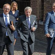 NLD/Den Haag/20180831 - Koninklijke Willems orde voor vlieger Roy de Ruiter, Jaap de Hoop Scheffer