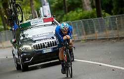 World Champion GANNA Filippo of Italy competes during Men Time Trial at UCI Road World Championship 2020, on September 24, 2020 in Imola, Italy. Photo by Vid Ponikvar / Sportida