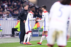 February 19, 2019 - Lyon, France - 27 MAXWEL CORNET (OL) - REMPLACEMENT - FAIR PLAY (Credit Image: © Panoramic via ZUMA Press)
