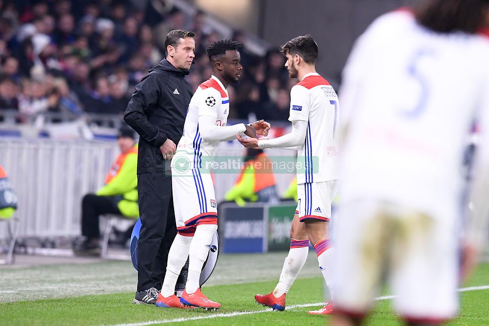 February 19, 2019 - Lyon, France - 27 MAXWEL CORNET (OL) - REMPLACEMENT - FAIR PLAY (Credit Image: © Panoramic via ZUMA Press)