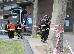 White City Tower Block Wednesday 14th June 2017  Gas Works that stopped that Fire Crews from bring more machines closer to the  tower block on Latimer Road ©UKNIP