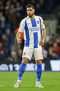 Brighton and Hove Albion midfielder Alireza Jahanbakhsh Jirandeh (16) during the Premier League match between Brighton and Hove Albion and West Ham United at the American Express Community Stadium, Brighton and Hove, England on 5 October 2018.
