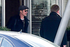 Brad Pitt Arrives in Paris - 12 March 2019