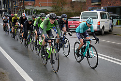 The break at Driedaagse Brugge - De Panne 2018 - a 151.7 km road race from Brugge to De Panne on March 22, 2018. Photo by Sean Robinson/Velofocus.com