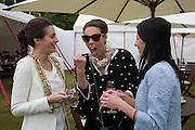 SASKIA BOXFORD;; MELISSA MILLS;  JULIET ANGUS, Cartier Queen's Cup final at Guards Polo Club, Windsor Great Park. 16 June 2013