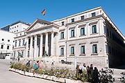 Congress of Deputies. Madrid, Spain