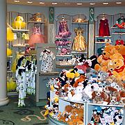 Reis Amerika, Disney store, winkel Rodeo Drive Los Angeles