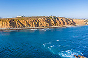 Dana Headlands Aerial View From the Pacific Ocean