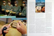 GEO (Germany), 5/2006, Photographs by Heidi & Hans-Juergen Koch/animal-affairs.com