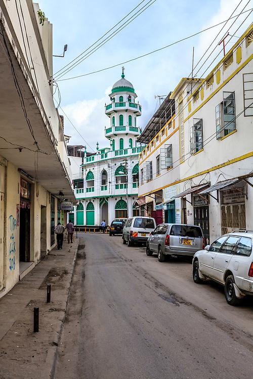 Bhadala Mosque in Old Town, Mombasa, Kenya.