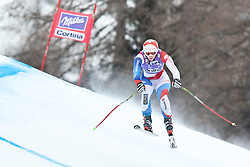 20.01.2011, Tofana, Cortina d Ampezzo, ITA, FIS World Cup Ski Alpin, Lady, Cortina, Abfahrt 2. Training, im Bild Marianne Abderhalden (SUI, #23) // Marianne Abderhalden (SUI) during FIS Ski Worldcup ladies downhill second training at pista Tofana in Cortina d Ampezzo, Italy on 20/1/2011. EXPA Pictures © 2011, PhotoCredit: EXPA/ J. Groder
