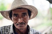 Man in Batu village, Java, Indonesia