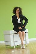 Tuesday, July 28, 2009- Blue Daring President Melissa photo shoot at 488 N. Milwaukee.