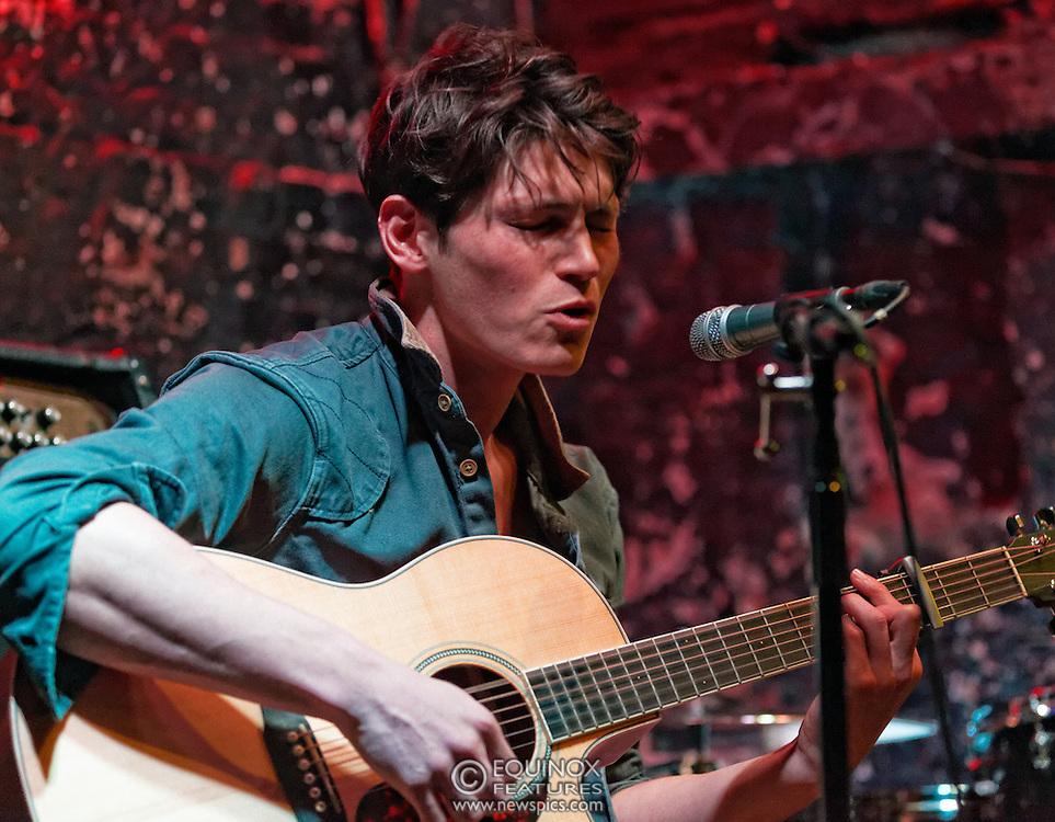 London, United Kingdom - 11 April 2013.Musician and model Sam Way performing at 12 Bar Club, Soho, London, England, UK..Contact: Equinox News Pictures Ltd. +448700780000 - Copyright: ©2013 Equinox Licensing Ltd. - www.newspics.com.Date Taken: 20130411 - Time Taken: 203330