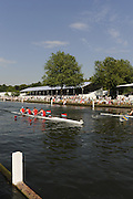 Henley, Great Britain. Bucks,Wallingford RC vs Nottingham RC, during a heat of the Brittannia Challenge Cup, Wednesday 01/07/2009 at Henley Royal Regatta [Mandatory Credit. Peter Spurrier/Intersport Images] . HRR.