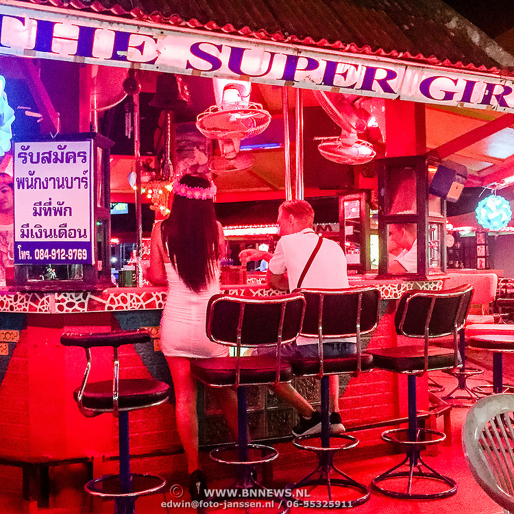 THA/Koh Samui/20160804 - Vakantie Thailand 2016 Koh Samui, toeristische bar in Lamai Beach