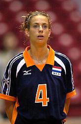 18-06-2000 JAP: OKT Volleybal 2000, Tokyo<br /> Nederland - China 3-0 / Erna Brinkman