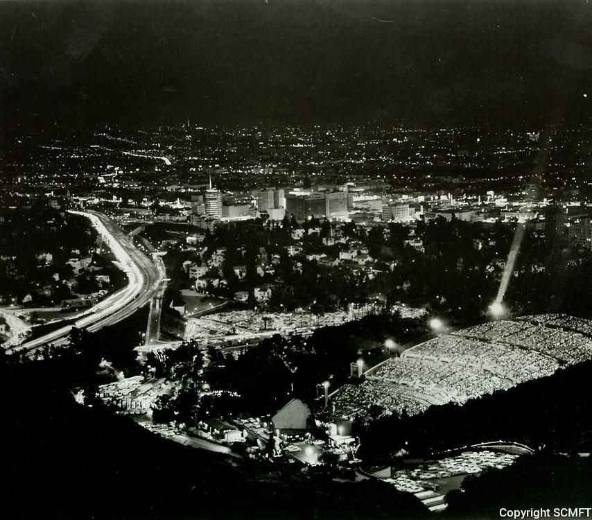 1966 The Hollywood Bowl at night
