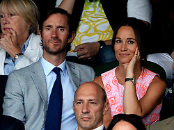 File photo dated 06/07/16 of Pippa Middleton and James Matthews as the pair will wed today at an event dubbed the society wedding of the year.