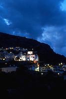 Evening light in Kritsa, Crete