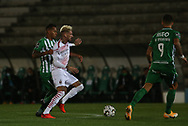 Castilllejo of Milan in action during the Europa League match between Rio Ave FC and AC Milan at Estadio dos Arcos, Vila do Conde, Portugal on 1 October 2020.
