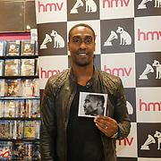 London, UK. 13th October, 2017.  Fans queueing for Simon Webbe - London album signing at HMV Westfield Ariel Way.