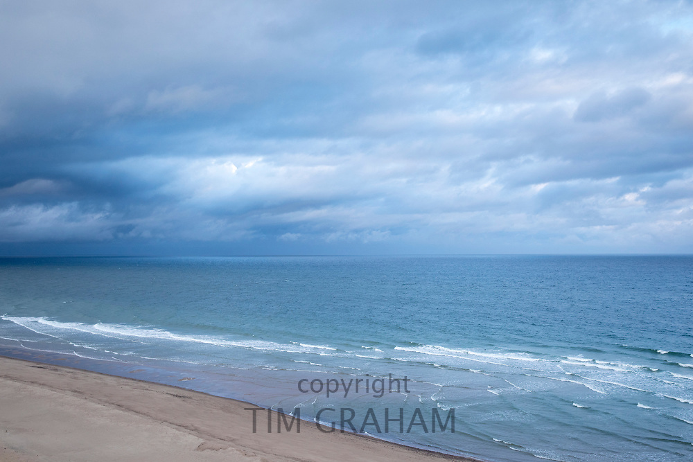 Cape Cod national seashore and the Atlantic Ocean near Marconi Beach, Cape Cod, New England, USA