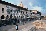Naval Museum, inside the walled city of Cartagena, Colombia's Caribbean coast.