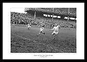 Fantastic shot of Christy Ring during the Railway Cup Final taken by Lensmen Photographic Agency. Great anniversary gift for people that are interested in Irish sports or Irish Hurling.