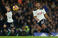 Mousa Dembele of Tottenham Hotspur in action. Premier league match, Chelsea v Tottenham Hotspur at Stamford Bridge in London on Saturday 26th November 2016.<br /> pic by John Patrick Fletcher, Andrew Orchard sports photography.