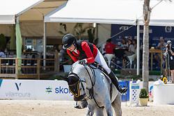 Conter Emilie, BEL, Balento C.S<br /> FEI Jumping European Championships for Young Riders, Juniors, Children - Vilamoura 2021<br /> © Hippo Foto - Leanjo de Koster<br /> 20/07/2021