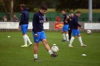 Jack Hopkins. Colne FC 0-2 Stockport County FC. Pre-season friendly. 5.9.20