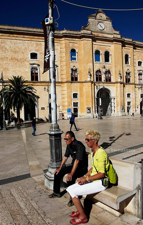 Matera, ex conventodell'Annunziata - Biblioteca Provinciale,  piazza Vittorio Veneto
