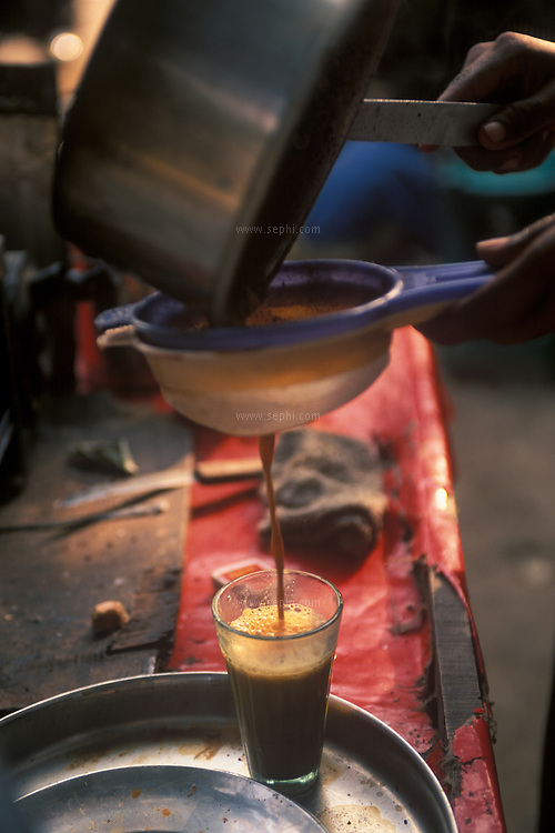 Indian massala tea is prepared with milk, ginger, cardamom and cloves and has a distinctive taste. One can have a glass of chai at any time of day and night in Delhi.