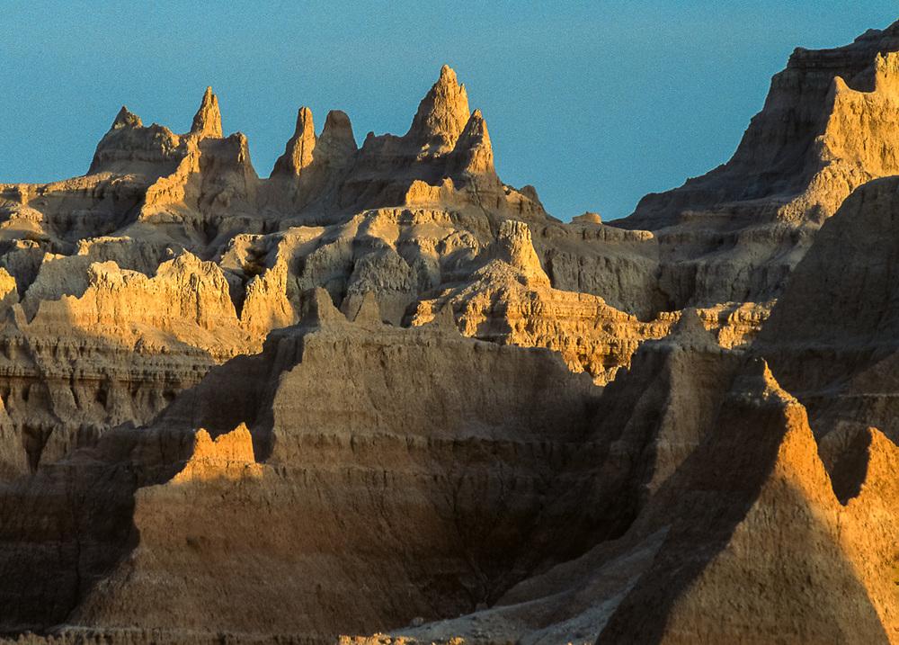 Morning light, Badlands National Park, South Dakota, USA