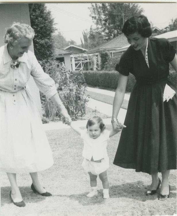Martha (Nana) Lambert, Janet Gelert, Joan Gelert