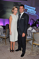 KENNY & GABBY LOGAN at the Dyslexia Action Awards Dinner at The Savoy Hotel, London on 29th November 2012.