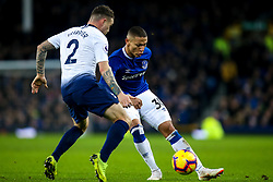Richarlison of Everton takes on Kieran Trippier of Tottenham Hotspur - Mandatory by-line: Robbie Stephenson/JMP - 23/12/2018 - FOOTBALL - Goodison Park - Liverpool, England - Everton v Tottenham Hotspur - Premier League