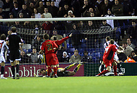 Photo: Mark Stephenson/Sportsbeat Images.<br /> West Bromwich Albion v Coventry City. Coca Cola Championship. 04/12/2007.West Brom's Roman Bednar (R)  scores