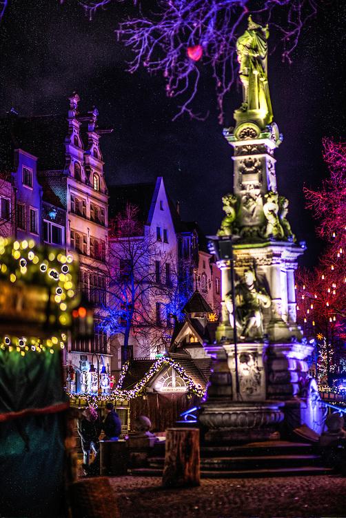 At the Christmas market in Köln