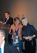 LORD BROWNE; MAYA NORMAN; THERESA GLEADOWE, Damien Hirst, Tate Modern: dinner. 2 April 2012.