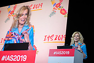 10th IAS Conference on HIV Science (IAS 2019), Mexico City, Mexico.<br /> <br /> Photo shows Dr Deborah Birx, ambassador-at-large and US global Aids coordinator, speaking at the conference.<br /> <br /> Photo ©International AIDS Society/Steve Forrest/Workers' Photos