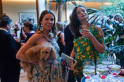 JOSEPHINE DANIEL; CAROLINE PEARL, Dogs Trust Honours 2009, A celebration of man's best friend. The Hurlingham Club, Ranelagh Gardens, London, SW6. 19 May 2009.
