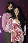Ex-Miss Schweiz Lauriane Sallin und ihr Mann Giorgos Palamaris anlässlich der Glory-Verleihung 2018 am 12. Januar 2019 im Aura Club Zürich.