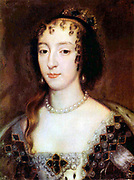 Henrietta Maria of France (French: Henriette Marie de France); (25 November[1] 1609 – 10 September 1669) was the Queen consort of England, Scotland, and Ireland as the wife of King Charles I. She was mother of two kings, Charles II and James II, 1660
