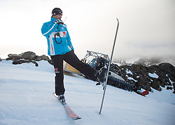 07.10.2013, Moelltaler Gletscher, Flattach, AUT, DSV Medientag, im Bild DSV-Alpin-Cheftrainer Wolfgang Maier // DSV Alpin Headcoach  Wolfgang Maier during the media day of German Ski Federation DSV at Moelltaler glacier in Flattach, Austria on 2013/10/07. EXPA Pictures © 2013, PhotoCredit: EXPA/ Johann Groder