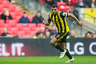 Troy Deeney (Capt) (Watford) during the FA Cup semi-final match between Watford and Wolverhampton Wanderers at Wembley Stadium in London, England on 7 April 2019.